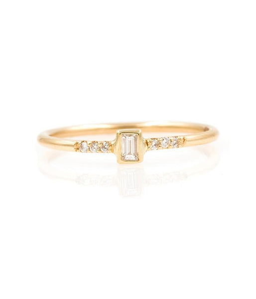 Diamond Baguette Ring* - LoveAudryRose.com