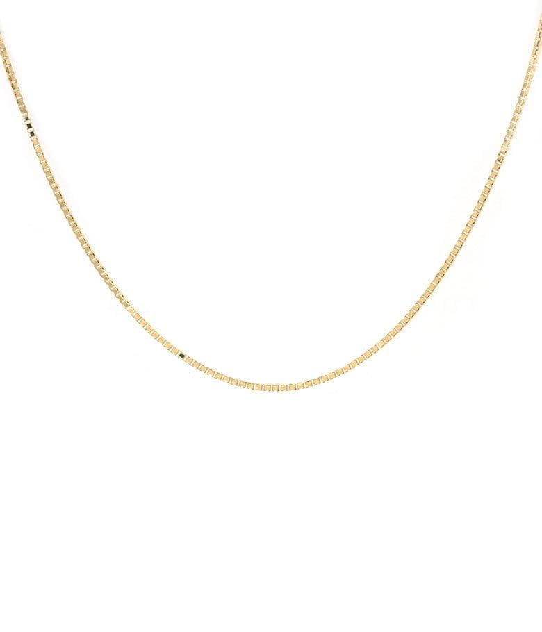 Box Chain Necklace - LoveAudryRose.com