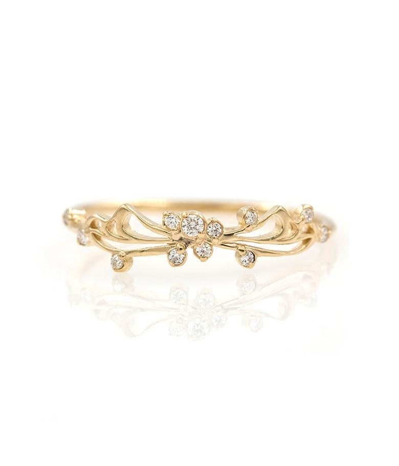 Butterfly Diamond Band - LoveAudryRose.com