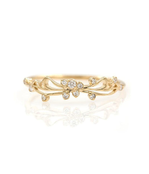 Butterfly Diamond Band