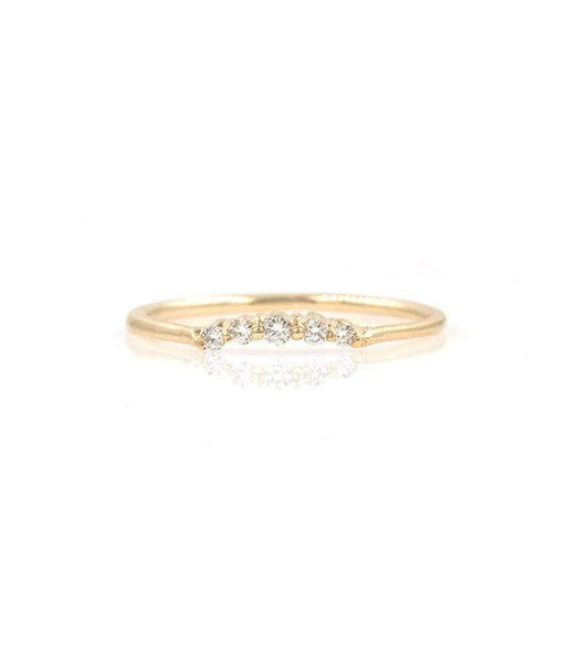 Classic Diamond Arch Ring* - LoveAudryRose.com