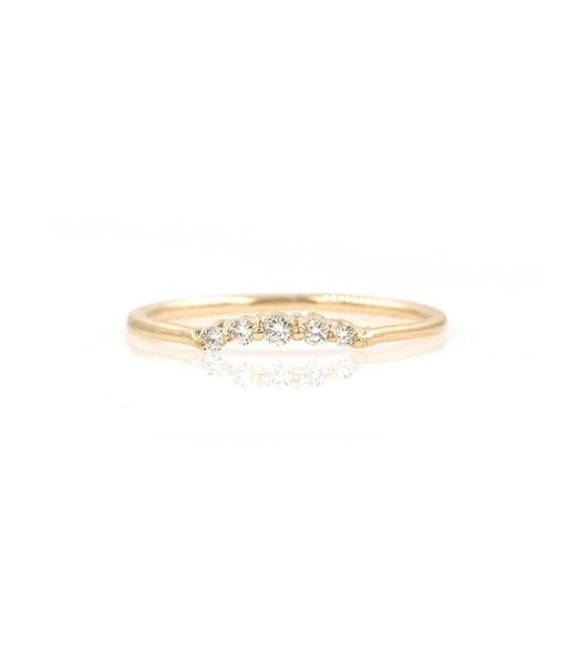 Classic Diamond Arch Ring