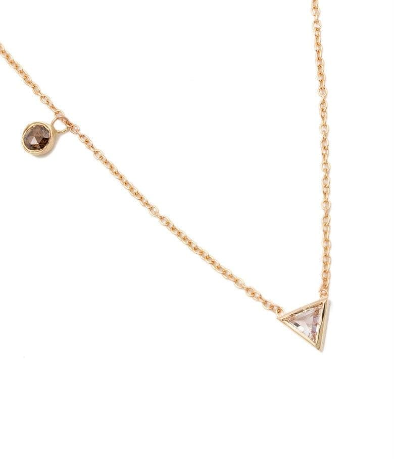 Cora Cognac Diamond Necklace
