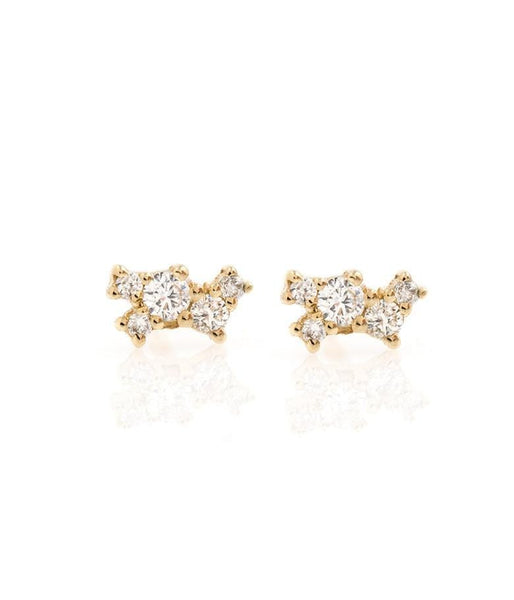 Nest of Diamonds Studs - LoveAudryRose.com
