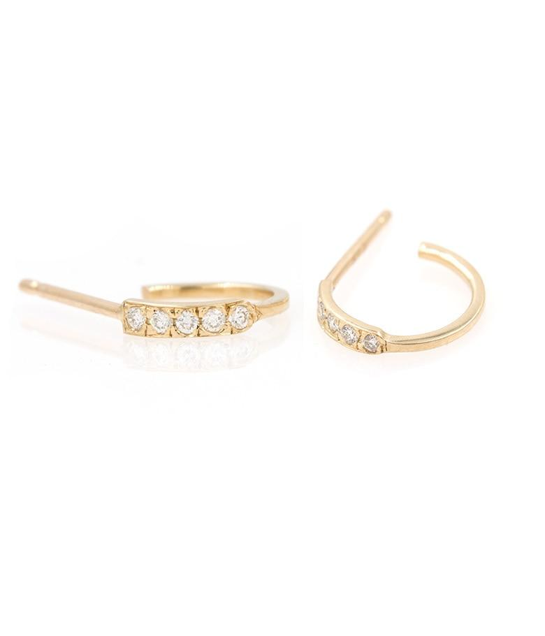 Salo Diamond Hoops