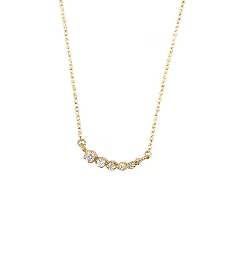 Diamond Shooting Star Necklace