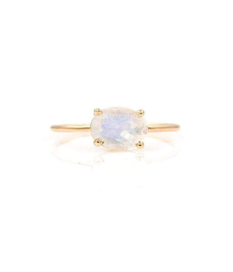 Floating Rainbow Moonstone Ring*** - LoveAudryRose.com