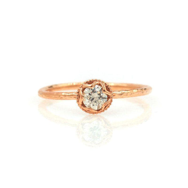 Champagne Diamond Ice Ring - LoveAudryRose.com
