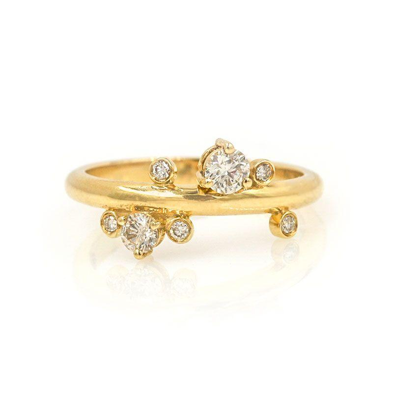 Constellation Diamond Band - LoveAudryRose.com