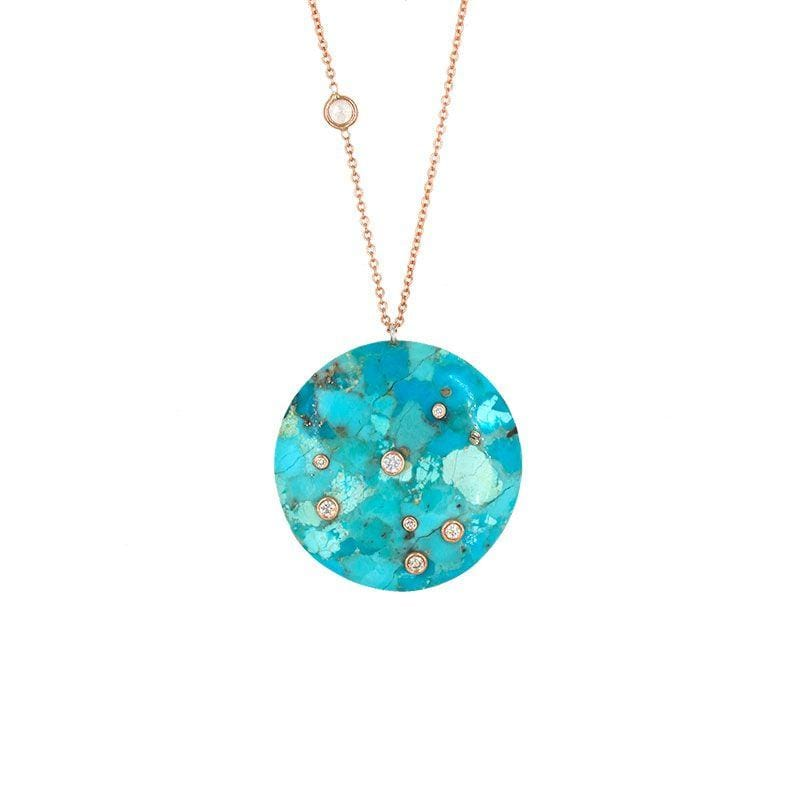 Turquoise Constellation Necklace - LoveAudryRose.com