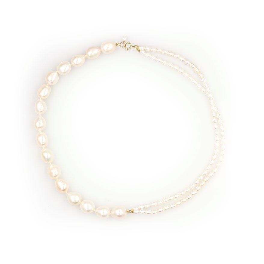 Mirroring Pearl Necklace - LoveAudryRose.com