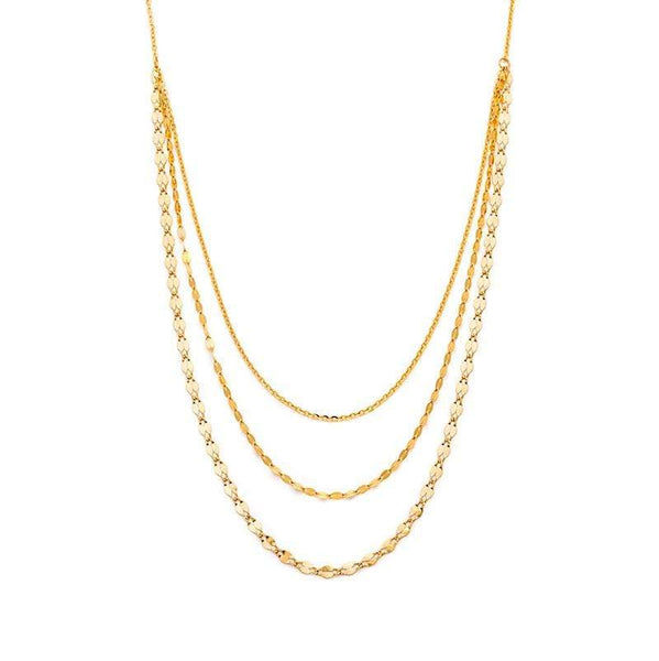 Layered Shimmer Necklace - LoveAudryRose.com