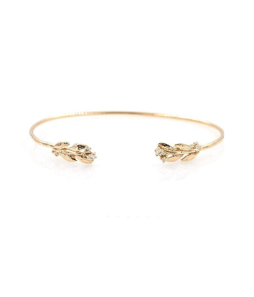 Diamond Leaf Cuff