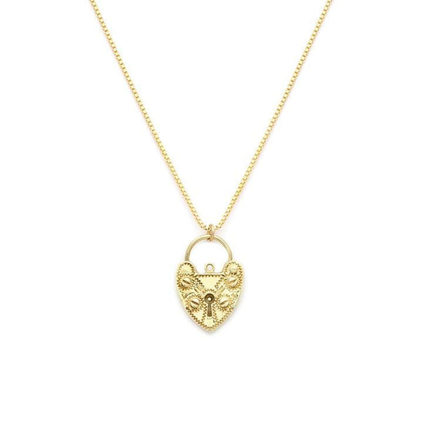 Love Lock Necklace - LoveAudryRose.com