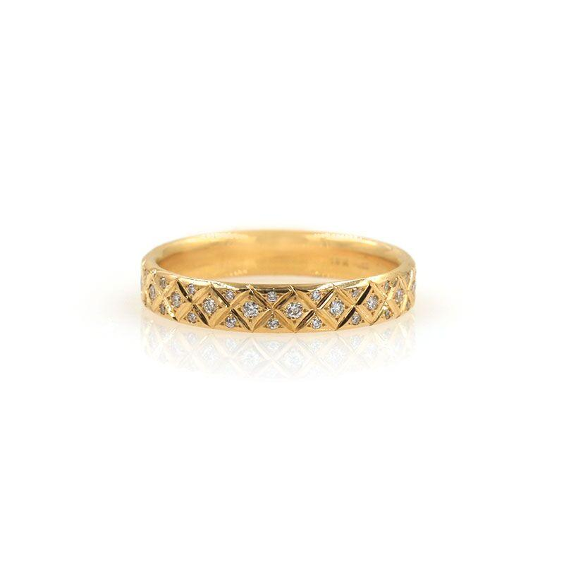 Diamond Criss Cross Band
