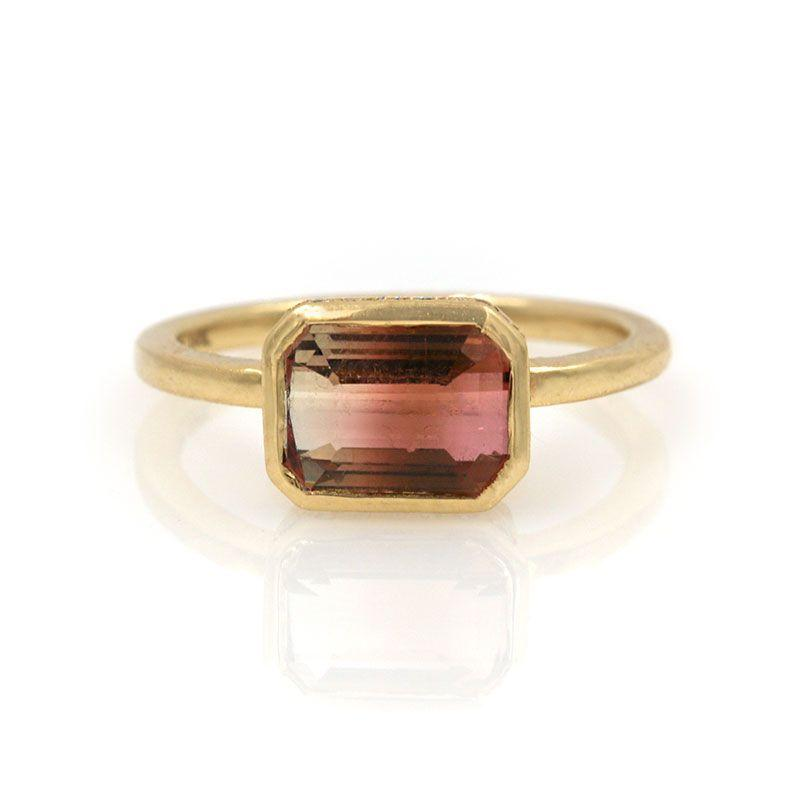 Sunset Tourmaline Ring