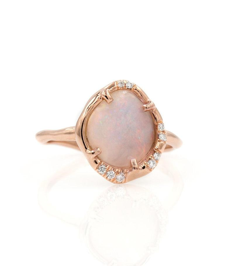 Opal Aphenos diamond Ring