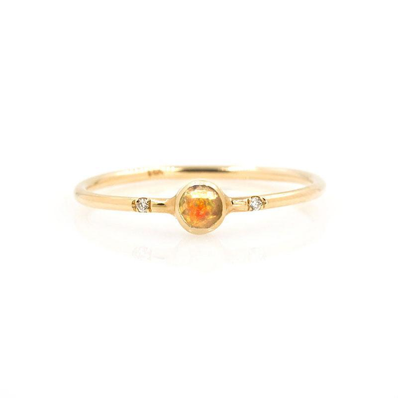 Gemstone Bezel Ring*** - LoveAudryRose.com
