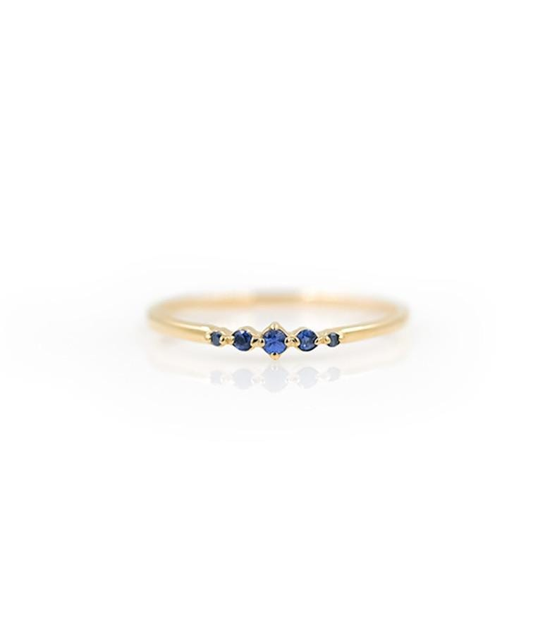 Dainty Oceana Sapphire Ring - LoveAudryRose.com