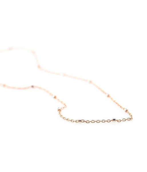 Glittering Rose Gold Choker Necklace - LoveAudryRose.com