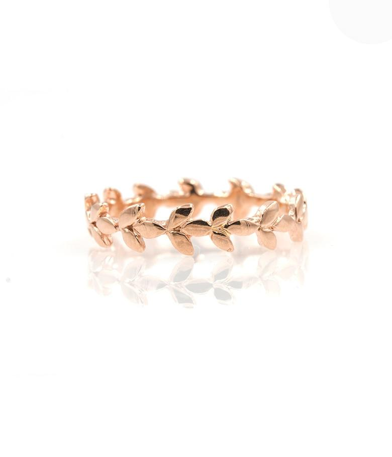Rose Gold Vine Band