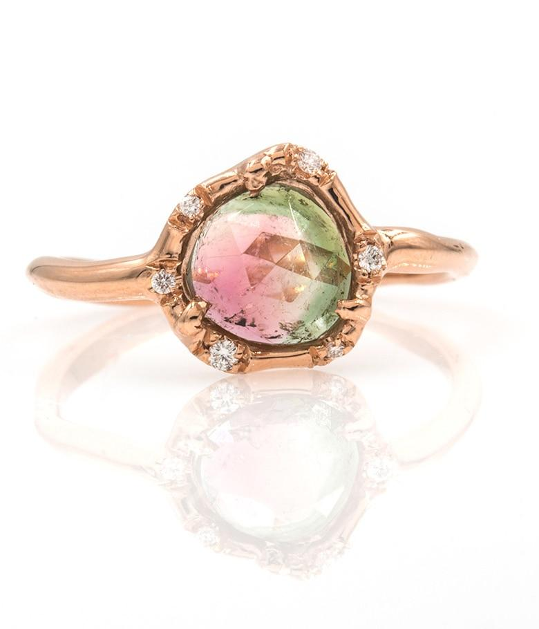 Cosmic Tourmaline Light Ring