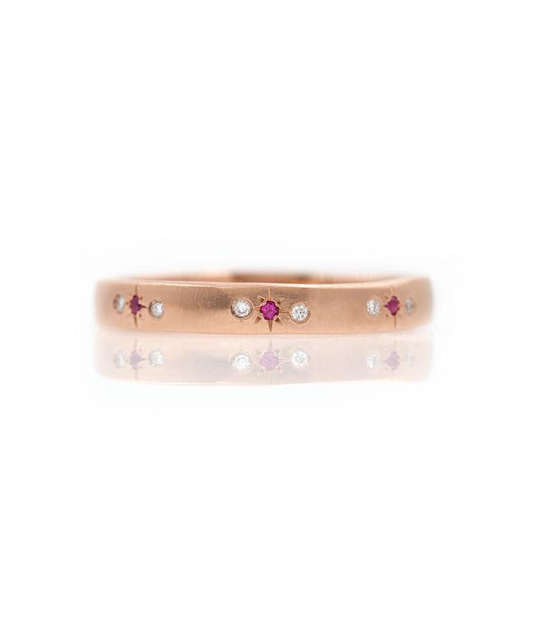 Ruby Star Eternity Band - LoveAudryRose.com