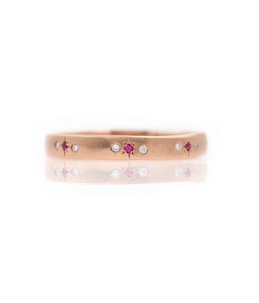 Ruby Star Eternity Band*** - LoveAudryRose.com