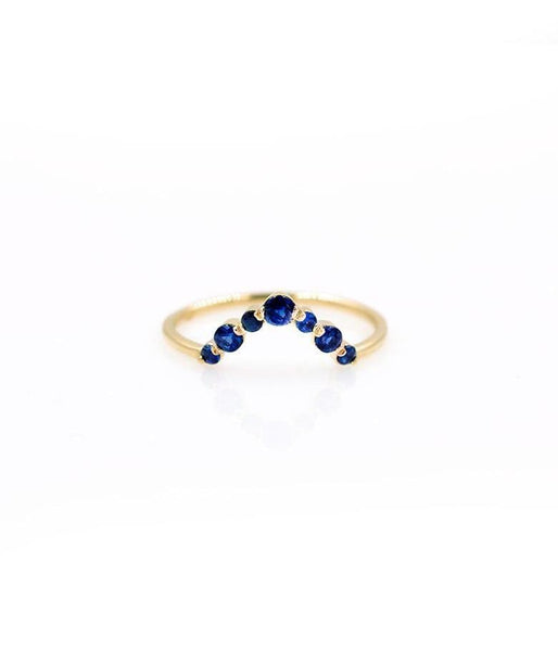 Oceana Sapphire Arch Ring