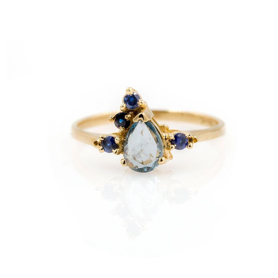 Sapphire Side Ring