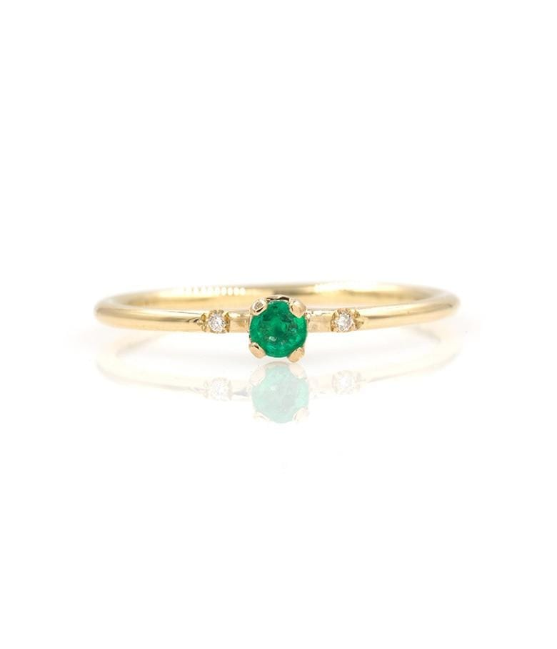 Sparkly Emerald Ring