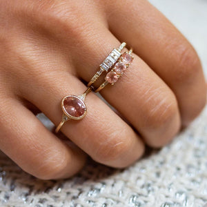 Baguette Diamond Channel Ring