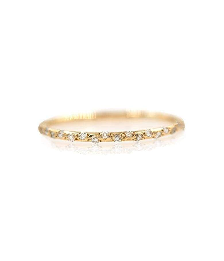 Thin Starry Diamond Eternity Band* - LoveAudryRose.com