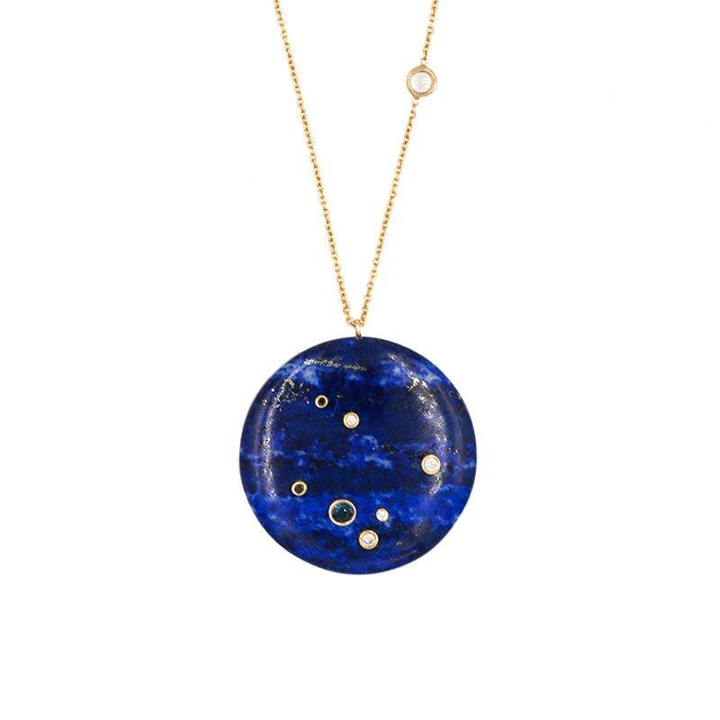 Lapis Constellation Necklace - LoveAudryRose.com