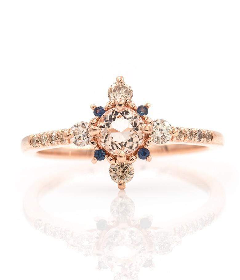 Winter Forest Morganite Ring*** - LoveAudryRose.com