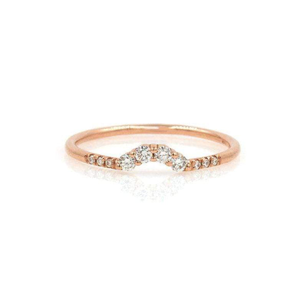 Diamond Arch Ring* - LoveAudryRose.com