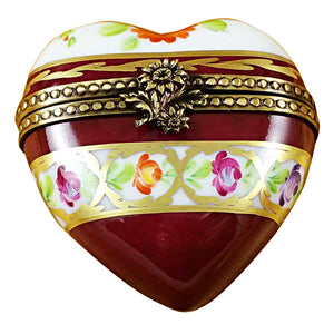 Heart Trinket Boxes Limoges Box