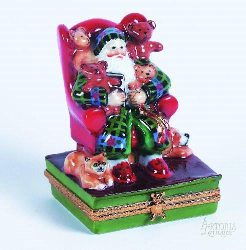 Lynn Haney: Fireside Friends Porcelain Limoges Boxes