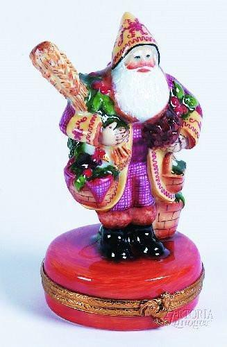 Lynn Haney: Provencal Santa-christmas lynn hanley-Artoria-Limoges Box Boutique