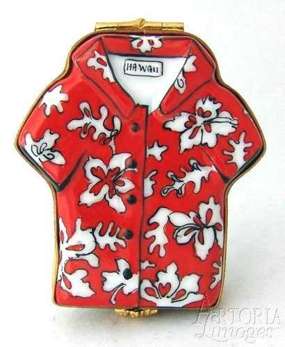 Hawaiian Shirt Limoges Boxes Limoges Boxes Porcelain Figurines Collectibles Gifts