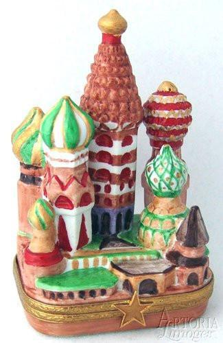 Kremlin Limoges Boxes - Limoges Boxes Porcelain Figurines