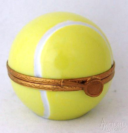 Tennis Ball-tennis sports professional-Artoria-Limoges Box Boutique