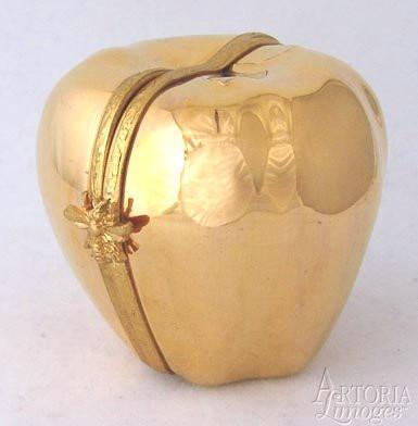 Golden Apple Limoges Boxes Limoges Boxes Porcelain Figurines Collectibles Gifts