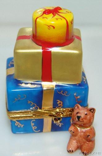 Christmas Presents Limoges Boxes - Limoges Boxes Porcelain Figurines