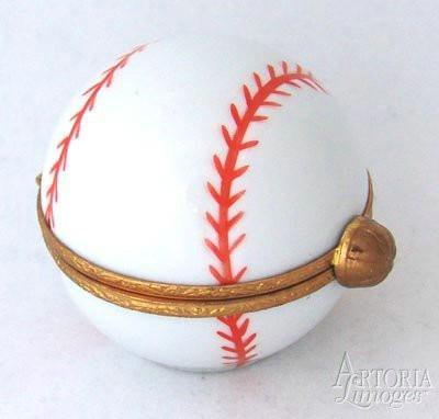 Baseball Limoges Boxes Limoges Boxes Porcelain Figurines Collectibles French Gifts