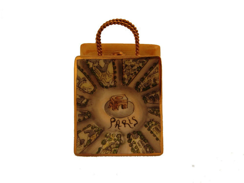 Arc De Triomphe Modern Bag Limoges Boxes Limoges Boxes Porcelain Figurines Collectibles French Gifts