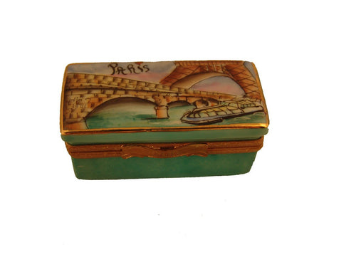 Bateau Mouche Long Box Limoges Boxes Limoges Boxes Porcelain Figurines Collectibles French Gifts