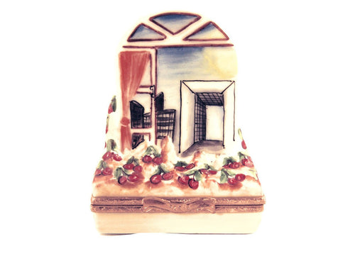 Arched Window Of La Defence Limoges Boxes Limoges Boxes Porcelain Figurines Collectibles French Gifts
