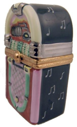Jukebox With Music Notes Limoges Boxes Limoges Boxes Porcelain Figurines Collectibles Gifts