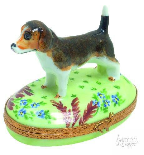 Beagle Limoges Boxes Limoges Boxes Porcelain Figurines Collectibles French Gifts